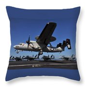 E2c Hawkeye Throw Pillow