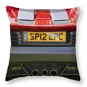 Ferrari Sp12 Ec Throw Pillow