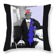 Film Homage Lee Marvin  Hell In The Pacific 1968 Russell Short  July 4th Tmc Tucson 1990-2011  Throw Pillow