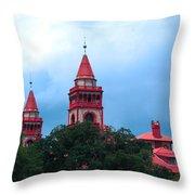 Flagler College St Augustine Fl Throw Pillow