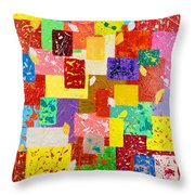 Frame Of Mind Throw Pillow