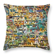 From The Baal Haleshem Throw Pillow