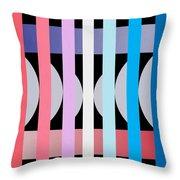 Fun Geometric  Throw Pillow