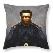 Gen. Ulysses S. Grant Throw Pillow