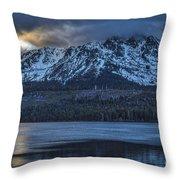 Good Old Tallac Throw Pillow