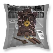 Grand National Wedding Cake Competition 516 Throw Pillow
