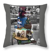 Grand National Wedding Cake Competition 741 Throw Pillow