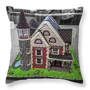 Grand National Wedding Cake Competition 805 Throw Pillow