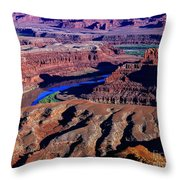 Grand View Point Overlook Throw Pillow