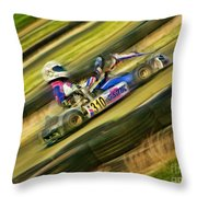 Hailey Groff  Throw Pillow