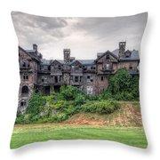Halcyon Hall  Throw Pillow
