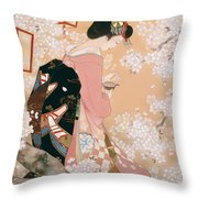 Hana Akari Throw Pillow