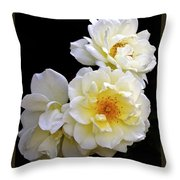 Hearts Of Gold Throw Pillow