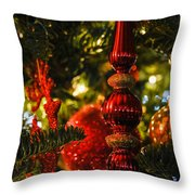 Holiday Decorations Throw Pillow