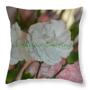 Holiday Greeting Card  Throw Pillow
