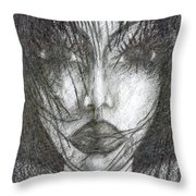 I Will Become With You Throw Pillow