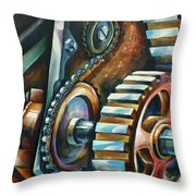 ' In Harmony ' Throw Pillow by Michael Lang