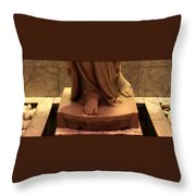 In Him I Believe Throw Pillow