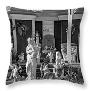 In Praise Of Everything Bw Throw Pillow