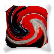 Infinity Multicultural American Flag Chief 1 Throw Pillow