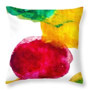 Interactions 1 Throw Pillow