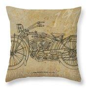 Iver Johnson 1915 Throw Pillow