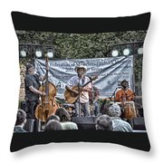 John Arthur Martinez Band Throw Pillow