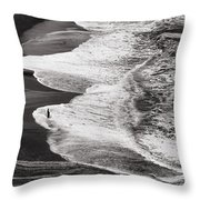 Just Fish'n Throw Pillow