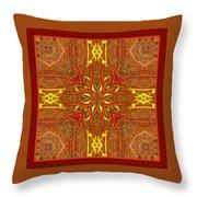 Keltic Cross Throw Pillow