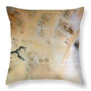Koufra Oasis Libya Throw Pillow