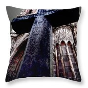 La Parroquia Cross Throw Pillow