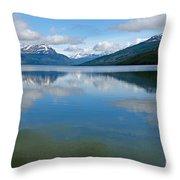 Lago Roca In Tierra Del Fuego National Park Throw Pillow