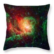 Lagoon Nebula Throw Pillow