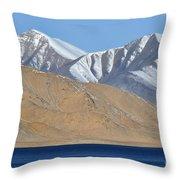 Lake Kara Kul Throw Pillow