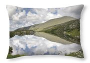 Lakes Of The Clouds - Mount Washington New Hampshire Throw Pillow