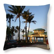 Lauderdale By The Sea Throw Pillow