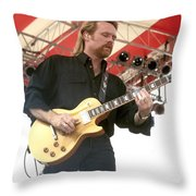 Lee Roy Parnell Throw Pillow