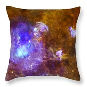 Life And Death In A Star-forming Cloud Throw Pillow