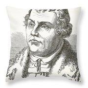 Martin Luther  Throw Pillow