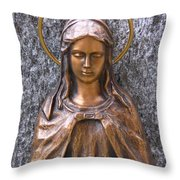 Mary Daughter Of Joachim Throw Pillow