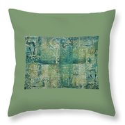 Mesopotamia Throw Pillow