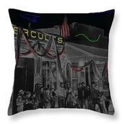 'neath Arizona Skies Homage 1934 California Powder Works  Congress Street Tucson Az Ca.1900 Throw Pillow