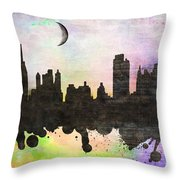 New York 6 Throw Pillow