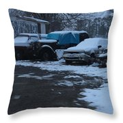 Old Rust Throw Pillow