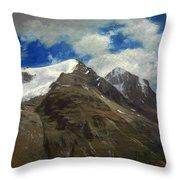 Peaks In The Rockies Throw Pillow