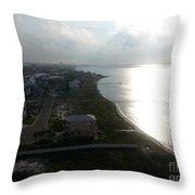 Pensacola Bay Throw Pillow