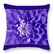 Pretty In Magenta Throw Pillow