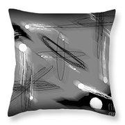 Quantum Flux Throw Pillow