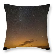 Road To The Milky Way Throw Pillow