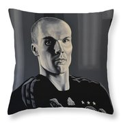 Robert Enke Throw Pillow by Paul Meijering